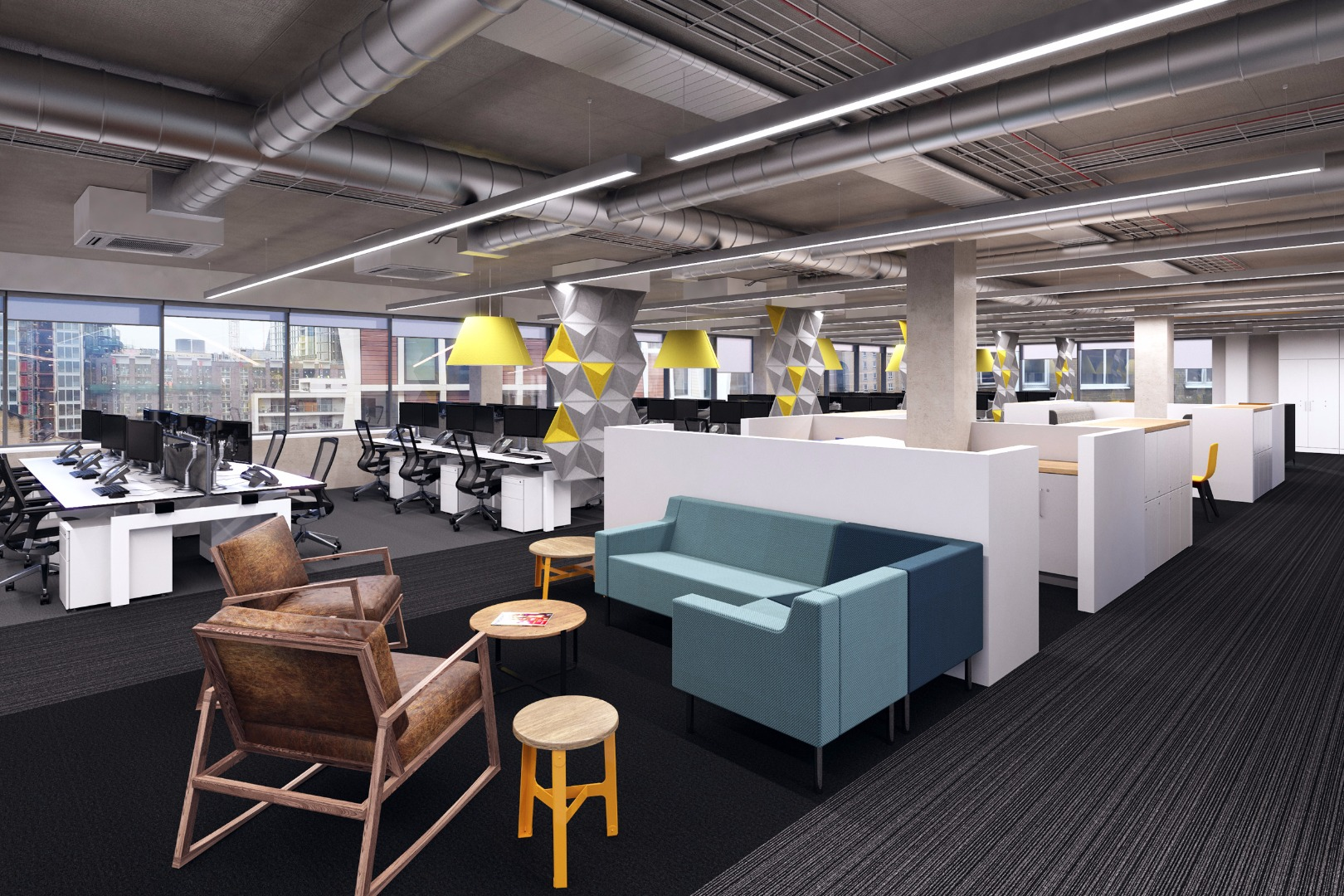 ... Design Their New 20,000 Sqft Office Space At 126 Back Church Lane, E1.  Diabetes UK Is The Leading UK Charity That Cares For, Connects With And  Campaigns ...